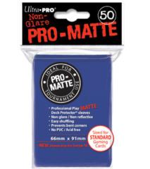 Ultra Pro: Standard Sleeves - Matte Blue (50ct)