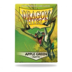Dragon Shield Apple Green Matte 100ct