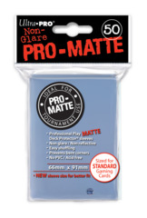 Ultra Pro: Standard Sleeves - Matte Clear (50ct)