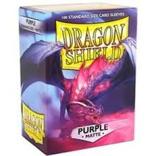 Dragon Shield: Standard Sleeves - Matte Purple (100 ct)