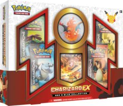 Mythical Pokemon Collection: Charizard EX Red & Blue Collection
