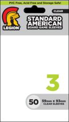 BOARD GAME SLEEVE 3 - STANDARD AMERICAN