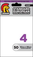 BOARD GAME SLEEVE 4 - STANDARD EUROPEAN