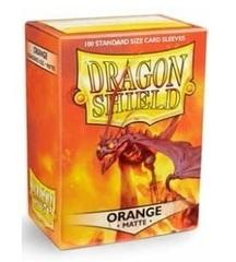 Dragon Shield Box of 100 in Matte Orange