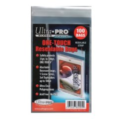 Ultra Pro One Touch Resealable Poly Bags Sleeves