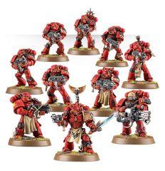 Blood Angels Terminator Assault Squad