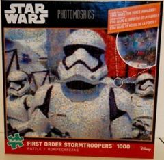Photomosaic - Star Wars Episode VII First Order Storm Troopers Puzzle (1000 pieces)