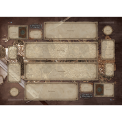 A Game of Thrones LCG: 2nd Edition - Westeros Two-Player Playmat
