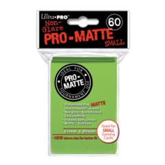 Ultra Pro PRO-Matte Small Sleeves - Lime Green (60ct)