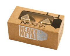 Heavy Metal D20 Chrome (2)