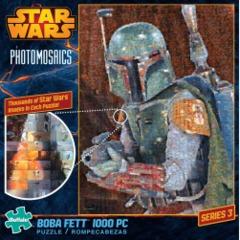 Photomosaic - Star Wars Boba Fett Puzzle (1000 pieces)