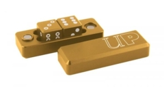 Gravity Dice D6 Gold (2)