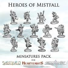 Heroes of mistfall Minatures pack