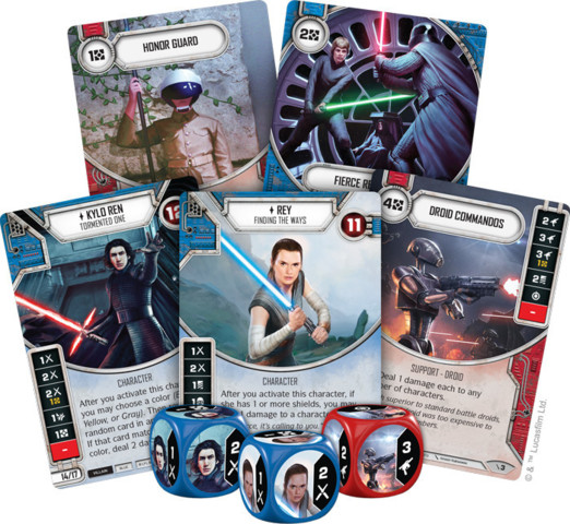 Star Wars Destiny Two-Player Game