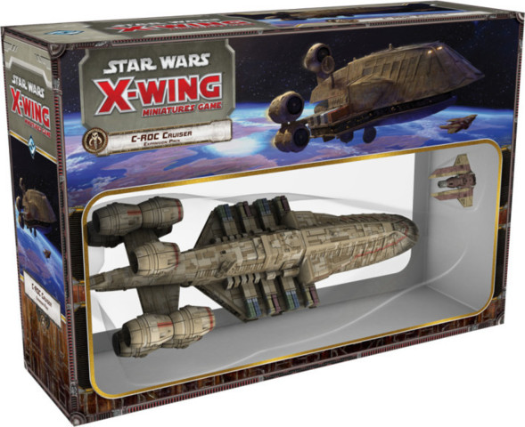 11. Star Wars: X-Wing: C-ROC Cruiser Expansion Pack