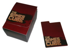 Games Cube Deckbox