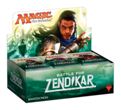 Battle for Zendikar Booster- French