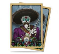 Dia De Los Muertos Mariachi Standard Size Deck Protector Sleeves (50)