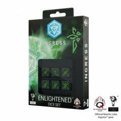 Ingress Enlightened (Green) d6 (6) Dice