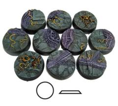 Urban Invasion 25mm Round Beveled Bases
