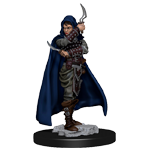 Pathfinder Deep Cuts Unpainted Miniatures: Human Female Rouge