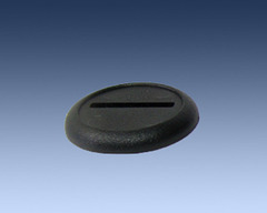 Black Plastic Bases 30mm (10 Pack)