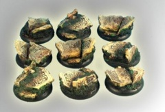 Celtic Ruins Round 30mm Bases (5)