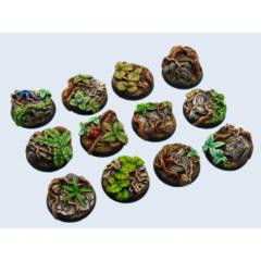 Jungle Bases 25mm Round (5)