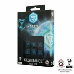 Ingress Resistance (Blue) d6 (6) Dice