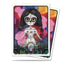 Dia De Los Muertos Doll Standard Size Deck Protector Sleeves (50)