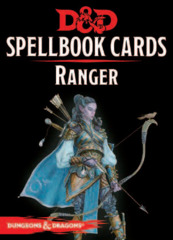 Dungeons and Dragons RPG 5th Edition: Spellbook Cards - Ranger Deck