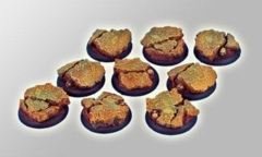 Royal Lions Ruins Round Edge bases 30mm #2
