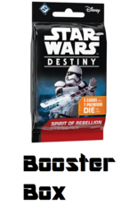 Star Wars Destiny - Spirit of Rebellion: Booster Display