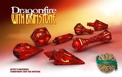 PolyHero Wizard Set - Dragonfire with Brimstone