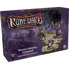 RuneWars: The Miniatures Game - Waiqar Infantry Unit Upgrade Expansion
