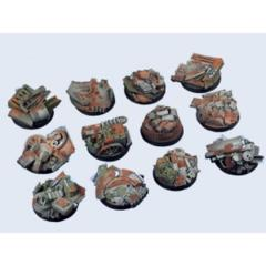 Trash 25mm Round Bases  (5)