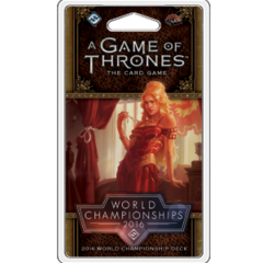 A Game of Thrones: The Card Game (2nd Edition) World Championship Deck 2016