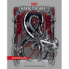 Dungeons and Dragons RPG 5th Edition: Character Sheets