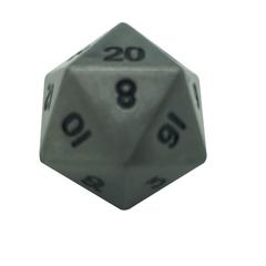 Metal Single Alloy d20 (1) - Aged Mithral
