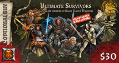 Zombicide: Black Plague Ultimate Survivors