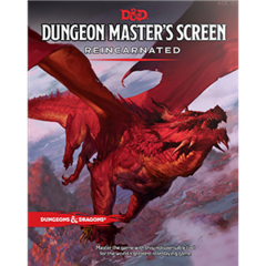 Dungeon Master's Screen (Reincarnated) 5th Ed.