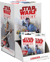 Star Wars Destiny Legacies Booster Display