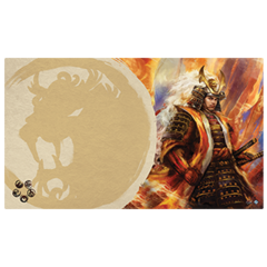 Legend of the Five Rings: Right Hand of the Emperor Playmat (Lion Clan)