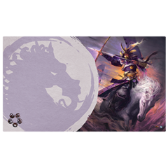 Legend of the Five Rings LCG: Mistress of the Five Winds Playmat (Unicorn Clan)