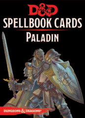 Dungeons and Dragons RPG 5th Edition: Spellbook Cards - Paladin Deck