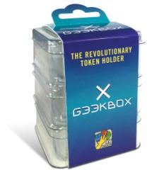 Geekbox Clear Plastic Token Storage Box/Lid (3 pk)