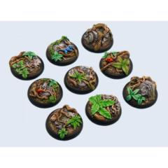 Jungle Bases 30mm Round (5)