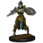 Pathfinder Deep Cuts Unpainted Miniatures: Elf Female Fighter