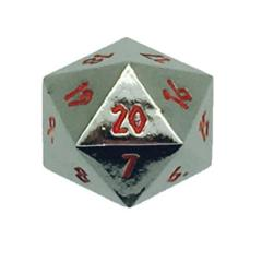 Metal Nightmare Black Spindown d20 (1)