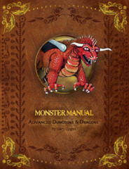 Advanced Dungeons and Dragons 1st Edition: Premium Monster Manual Hardcover